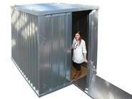 Lagerhallen und Container