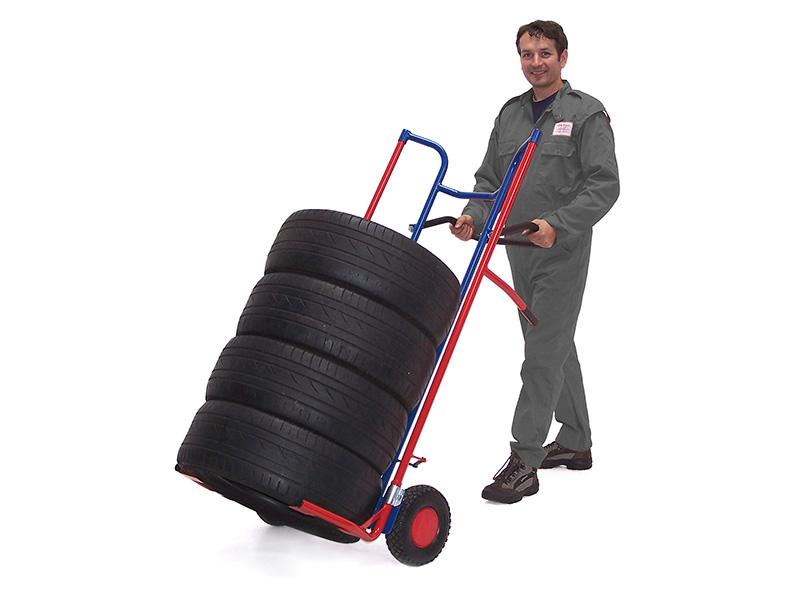 Reifenkarre, Luftbereifung