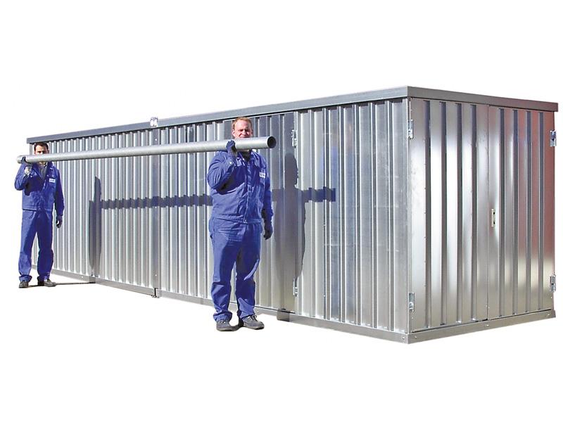 Schnellbaucontainer SC40 mit 2-flügeliger Tür