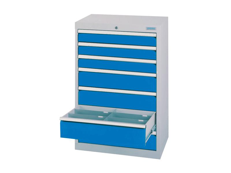 werkstattschubladenschrank 7 schubladen 50 kg g nstig online kaufen lagertechnik steger shop. Black Bedroom Furniture Sets. Home Design Ideas