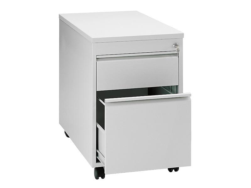 Schreibtisch-Rollcontainer, mit 2 Schubladen