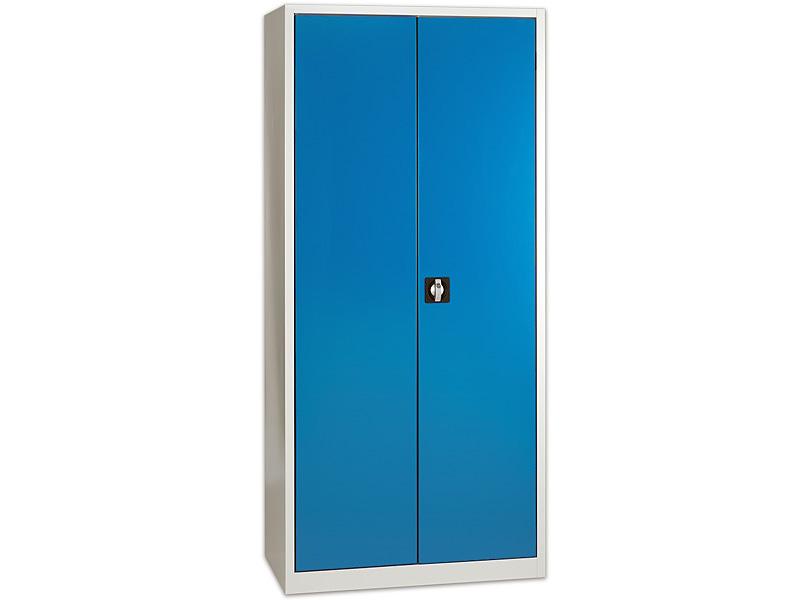 Universalschrank H 1950 mm, Türfront himmelblau