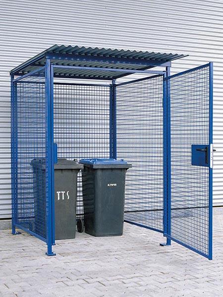 Universal Gitterbox blau