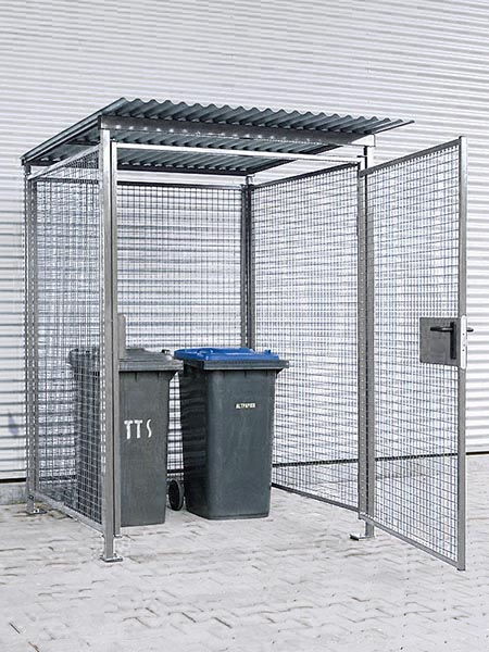 Universal Gitterbox für Außenbereich