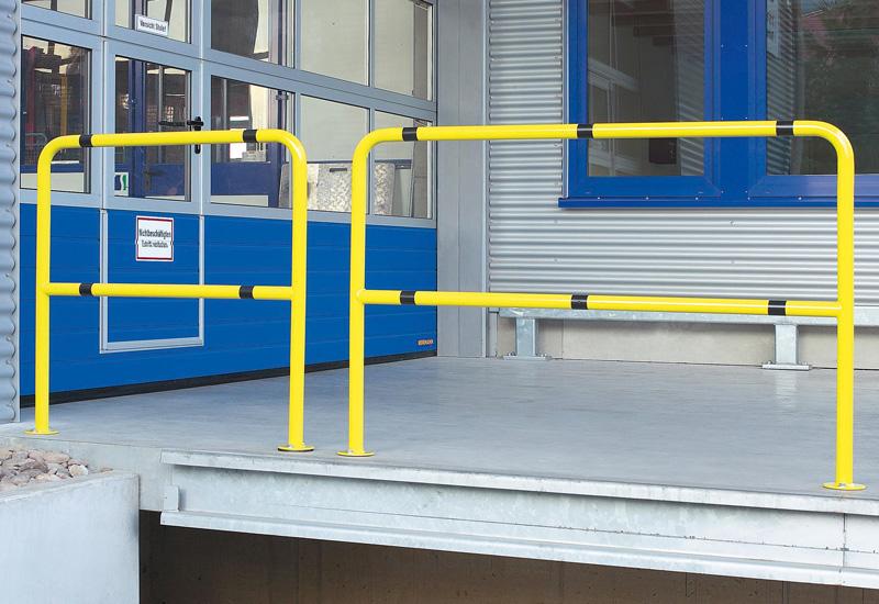 Anfahrschutzbügel H600 mm, Innenbereich