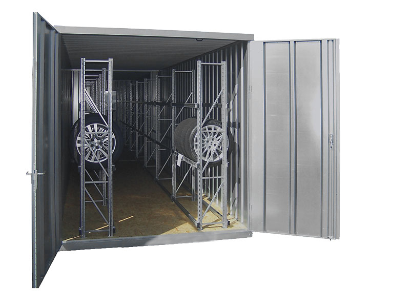 Reifencontainer RC40, verzinkt