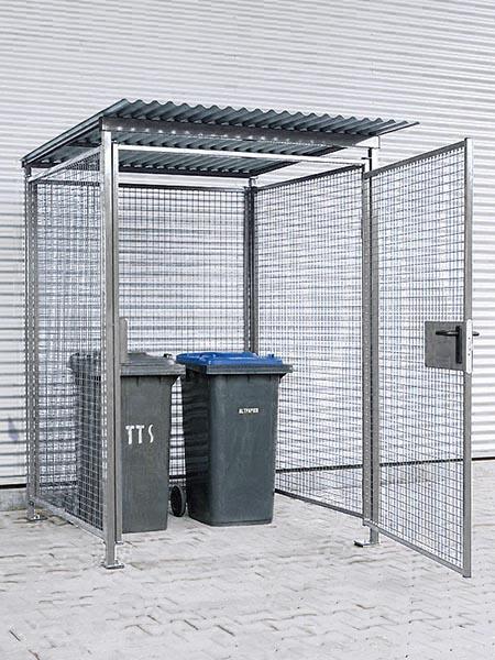 Universal-Gitterbox feuerverzinkt für Außenbereich