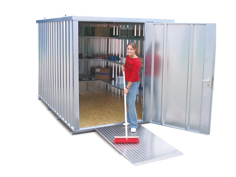 Schnellbaucontainer SC mit einflügeliger Tür