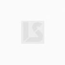 Büro-Schiebetürenschrank mit 2 Böden, lichtgrau