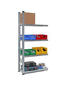 Anbauregal Fachbodenregal System SUPER, H 2000 mm