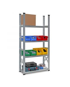 Fachbodenregal System SUPER Grundfeld H 2,0 x T 0,3 x L 1,8 m