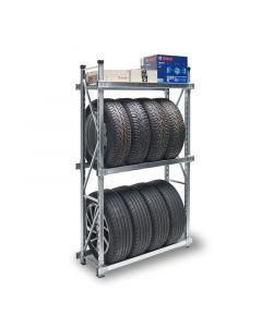 Garagenregal H 1700 mm mit 3 Ebenen