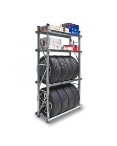 Werkstattregal, Garagenregal für Reifenlagerung
