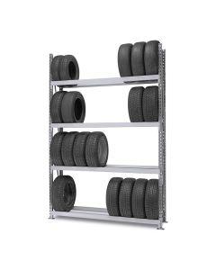 Weitspann Reifenregal | Grundfeld H 2750 mm mit 4 Lagerebenen