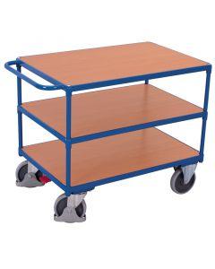 Tischwagen schwer, 400 kg Traglast, 3 Ladeflächen