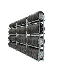 Reifenregal GENIUS H2,5 x L4,5 m