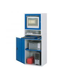PC Werkstattschrank H 1,77 x T 0,52 x B 0,65 m inkl. Monitorgehäuse T 520 mm