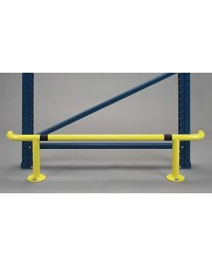Rammschutzbügel L 1,25 m für Regaldurchgänge
