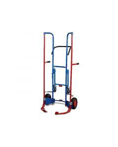 Reifentransportkarre mit Stützrädern, 200 kg, Luftbereifung