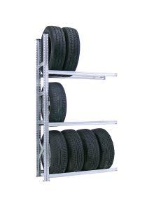 Reifenregal System SUPER | Anbaufeld H 2,0 m mit 3 Lagerebenen