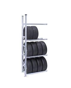 Reifenregal System SUPER | Anbauregal H 2,5 m