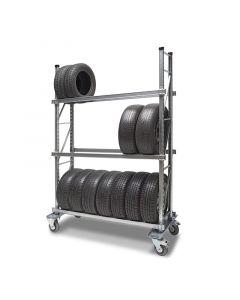 Transportwagen für Reifen mit 3 Ebenen Länge 1,80 m