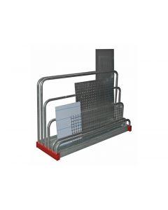 Schubfachregal für Bleche H 1,0 x T 0,4 x L 1,6 m
